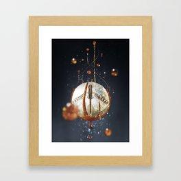 Bug food Framed Art Print