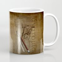 anatomy Mugs featuring Anatomy by ArtAngelo