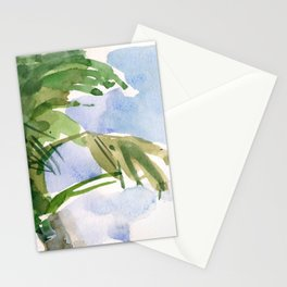 Tulum Swaying Palm Tree Stationery Cards