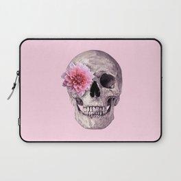 FLOWER SKULL Laptop Sleeve