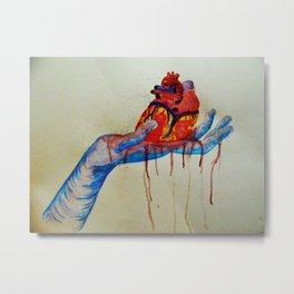 Grim Love  Metal Print