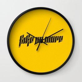 Fake No More Wall Clock