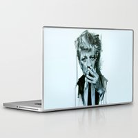 lynch Laptop & iPad Skins featuring David Lynch by Marco Draisci