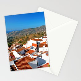 Frigiliana Andalucia Costa Del Sol Spain Stationery Cards