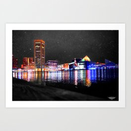 Baltimore Art Print