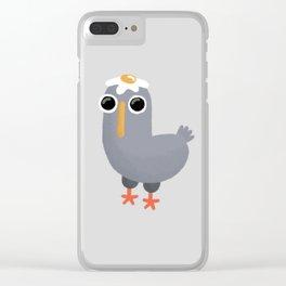 Pidgeon Clear iPhone Case