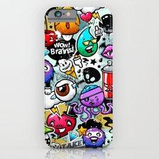 graffiti fun Slim Case iPhone 6s