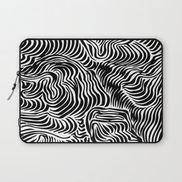 black flow Laptop Sleeve