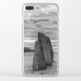 Standing Stones Clear iPhone Case