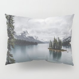 Maligne Lake Jasper Alberta Pillow Sham