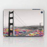 water iPad Cases featuring It's in the Water by Bianca Green