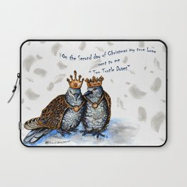 Two Turtle Doves Laptop Sleeve
