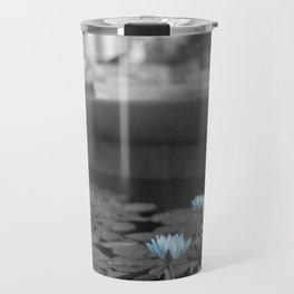 Lily Pad Blues Travel Mug