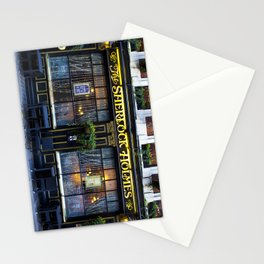 The Sherlock Holmes Pub London Stationery Cards