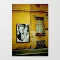 italy Canvas Prints featuring italy by sustici