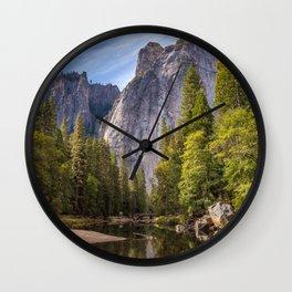 Heavenly Landscape Wall Clock