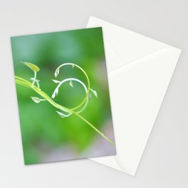 Cute Baby Curlicue Vines Stationery Cards