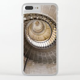 Lighthouse Spiral staircase Clear iPhone Case