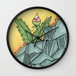 Exactly Right Here Wall Clock
