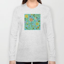 Petty Floral Pattern 3 Long Sleeve T-shirt
