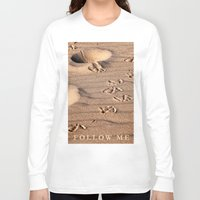 dune Long Sleeve T-shirts featuring SAND DUNE  by CAPTAINSILVA