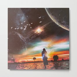 INFINITE WORLD #5 Metal Print
