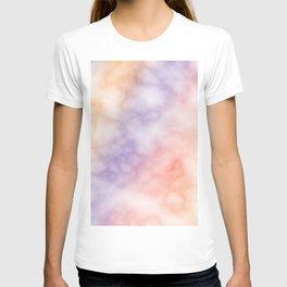 Rainbow marble texture 1 T-shirt