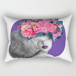 Ultraviolet dreams Rectangular Pillow
