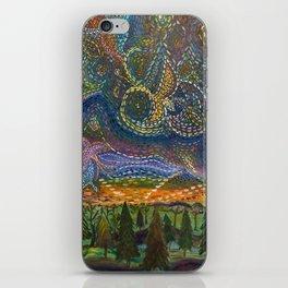 Vishnu skies iPhone Skin