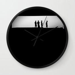Lombok silhouettes Wall Clock