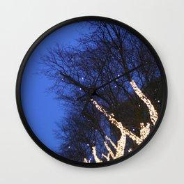 Trees #1 Wall Clock