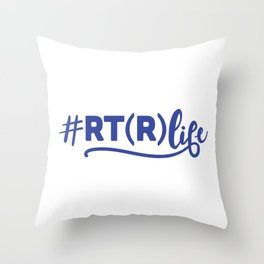 Radiology Technician,  Rad Tech rtr Throw Pillow
