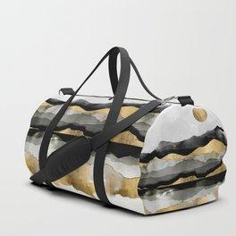 Golden Spring Moon Duffle Bag