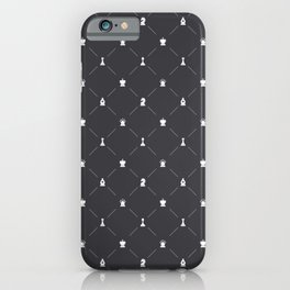 Chess Pattern   Strategy Tactic Board Game iPhone Case