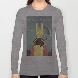 SUN RA: SPACE IS THE PLACE Long Sleeve T-shirt