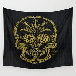 Muerte De Oro Wall Tapestry