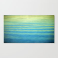 SIMPLY WATER Canvas Print