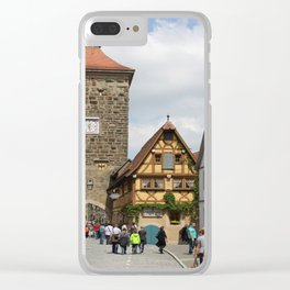 Rothenburg ob der Tauber Impression Clear iPhone Case