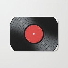 Music Record Bath Mat