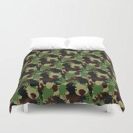 Bedbush Hills - Packin' a Mac Duvet Cover