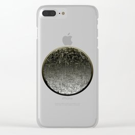 Planetary Mood 4 / Divergence Clear iPhone Case
