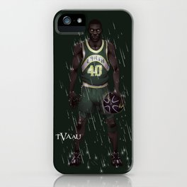Reign Man iPhone Case