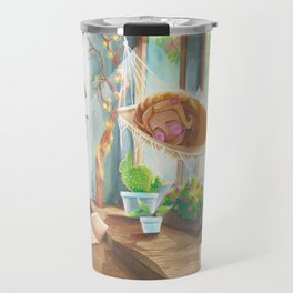 Sleeping in the Sunshine Travel Mug