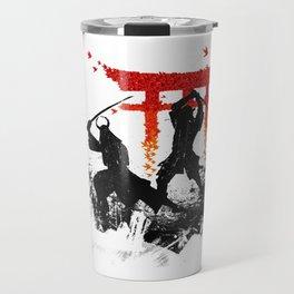 Samurai Duel Travel Mug