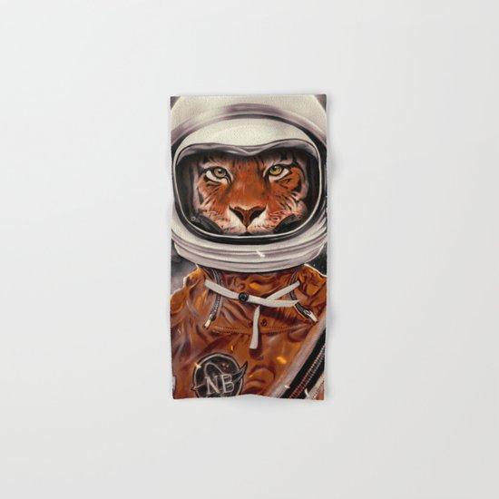 Tiger Astronaut Hand & Bath Towel
