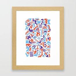 Cone Framed Art Print
