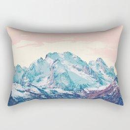 Memories of a sky palette Rectangular Pillow