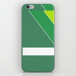 Greens Pattern iPhone Skin