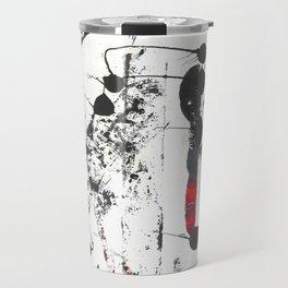 Abstract Modern Ink painting Travel Mug