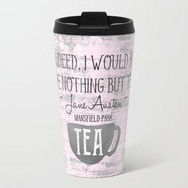 Jane Austen Tea Quote Travel Mug